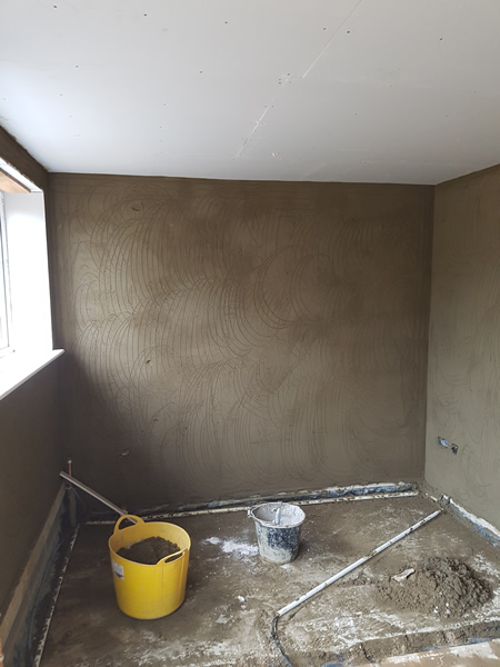 Internal sand and cement in watford to help with damp problems